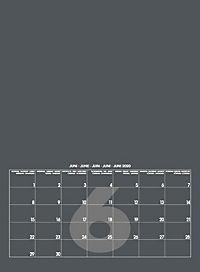 Mid Grau 2019 - Blanko Mid Format - Produktdetailbild 7