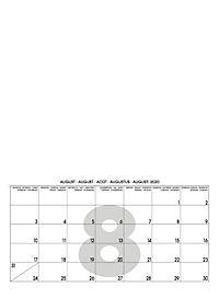 Mid White 2019 - Blanko Mid Format - Produktdetailbild 9