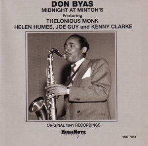 Midnight At Minton S, Don Byas