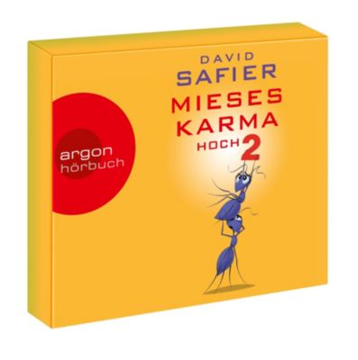 Mieses Karma hoch 2, 6 Audio-CDs, David Safier