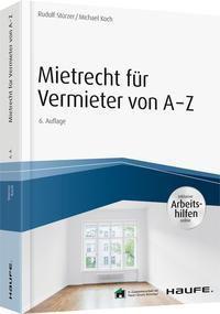 Mietrecht für Vermieter von A-Z -  pdf epub