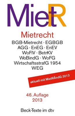 Mietrecht (MietR) -  pdf epub