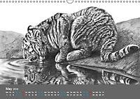 Mighty Fine Art Drawn Wild 2019 (Wall Calendar 2019 DIN A3 Landscape) - Produktdetailbild 5
