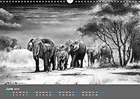 Mighty Fine Art Drawn Wild 2019 (Wall Calendar 2019 DIN A3 Landscape) - Produktdetailbild 6
