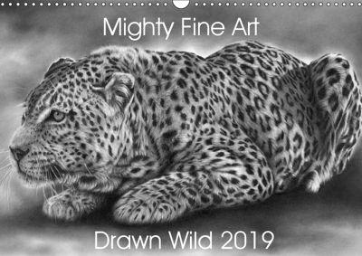 Mighty Fine Art Drawn Wild 2019 (Wall Calendar 2019 DIN A3 Landscape), Peter Williams