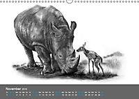 Mighty Fine Art Drawn Wild 2019 (Wall Calendar 2019 DIN A3 Landscape) - Produktdetailbild 11
