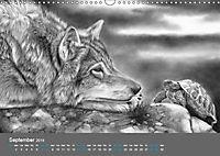 Mighty Fine Art Drawn Wild 2019 (Wall Calendar 2019 DIN A3 Landscape) - Produktdetailbild 9