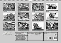 Mighty Fine Art Drawn Wild 2019 (Wall Calendar 2019 DIN A3 Landscape) - Produktdetailbild 13