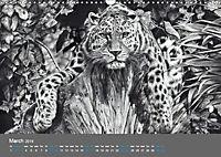 Mighty Fine Art Drawn Wild 2019 (Wall Calendar 2019 DIN A3 Landscape) - Produktdetailbild 3