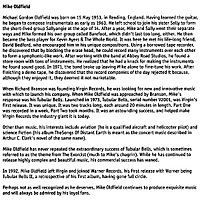 Mike Oldfield - Tubular Bells, CD - Produktdetailbild 2
