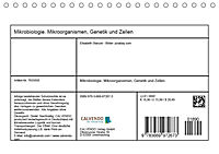 Mikrobiologie. Mikroorganismen, Genetik und Zellen (Tischkalender 2019 DIN A5 quer) - Produktdetailbild 13