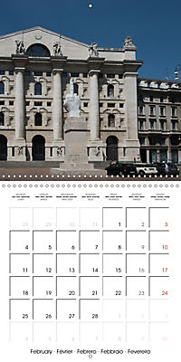 Milan - Italy (Wall Calendar 2019 300 × 300 mm Square) - Produktdetailbild 2