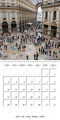 Milan - Italy (Wall Calendar 2019 300 × 300 mm Square) - Produktdetailbild 6