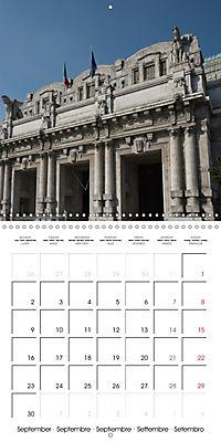 Milan - Italy (Wall Calendar 2019 300 × 300 mm Square) - Produktdetailbild 9