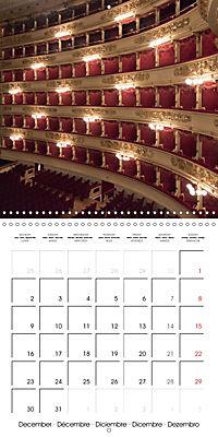 Milan - Italy (Wall Calendar 2019 300 × 300 mm Square) - Produktdetailbild 12