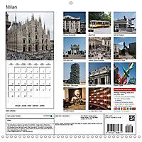 Milan - Italy (Wall Calendar 2019 300 × 300 mm Square) - Produktdetailbild 13