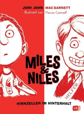 Miles & Niles - Hirnzellen im Hinterhalt, Jory John, Mac Barnett