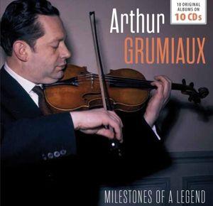 Milestones Of A Legend-10 Original Albums, Arthur Grumiaux