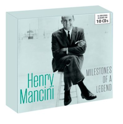 Milestones Of A Legend (10CD-Box), Henry Mancini