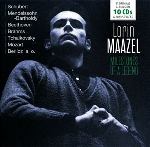 Milestones Of A Legend ? 11 Original Albums, Lorin Maazel