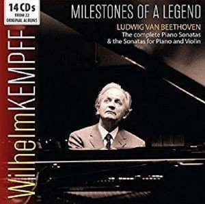 Milestones Of A Legend, Wilhelm Kempff