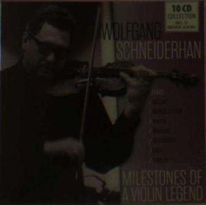 Milestones Of A Violin Legend, Wolfgang Schneiderhan