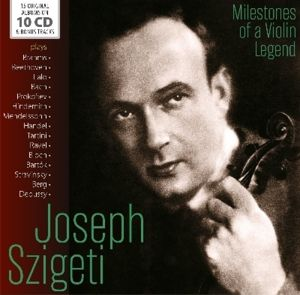 Milestones Of A Violin Legend, Joseph Szigeti