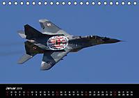 Militärflugzeuge 2019 (Tischkalender 2019 DIN A5 quer) - Produktdetailbild 1