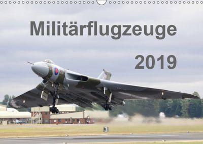 Militärflugzeuge 2019 (Wandkalender 2019 DIN A3 quer), MUC-Spotter