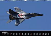 Militärflugzeuge 2019 (Wandkalender 2019 DIN A3 quer) - Produktdetailbild 1