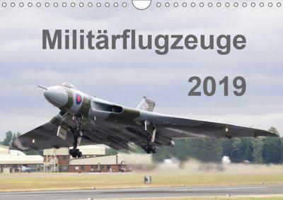 Militärflugzeuge 2019 (Wandkalender 2019 DIN A4 quer), MUC-Spotter