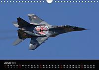 Militärflugzeuge 2019 (Wandkalender 2019 DIN A4 quer) - Produktdetailbild 1