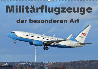 Militärflugzeuge der besonderen Art (Wandkalender 2019 DIN A2 quer), TomTom