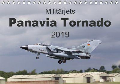 Militärjets Panavia Tornado (Tischkalender 2019 DIN A5 quer), MUC-Spotter