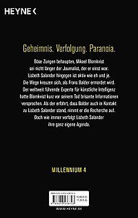Millennium Band 4: Verschwörung - Produktdetailbild 1