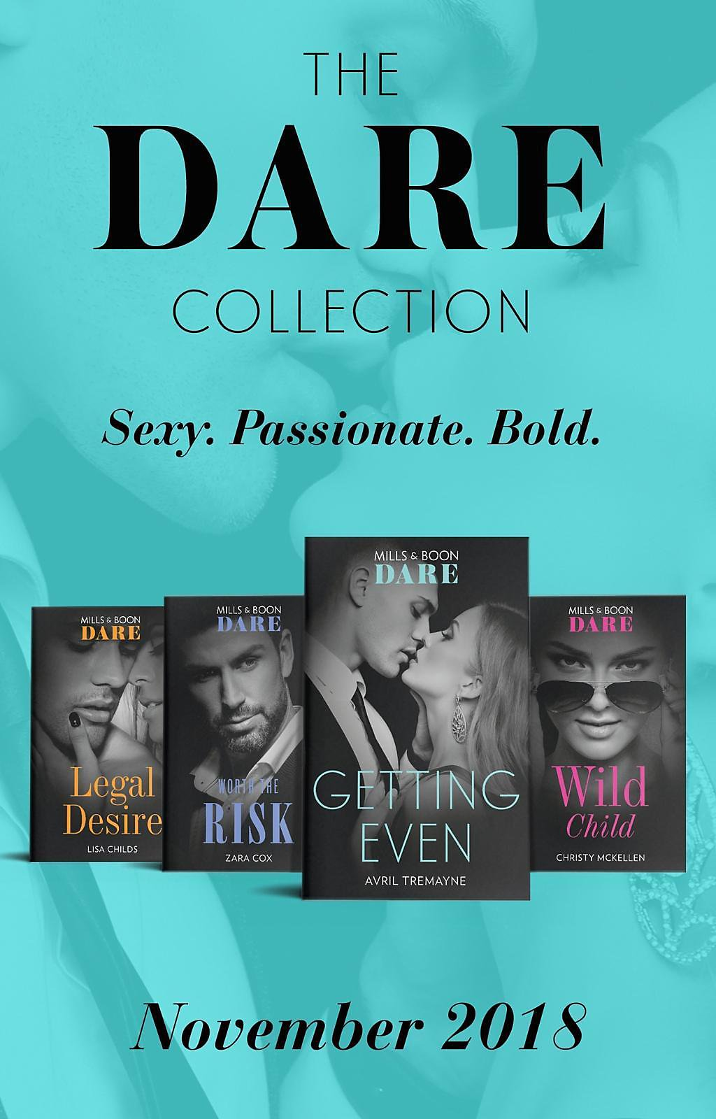 Mills & Boon Series Collections: The Dare Collection November 2018