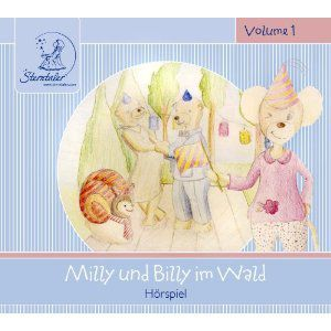 Milly & Billy im Wald, 1 Audio-CD, Katja Ruhl