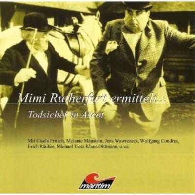 Mimi Rutherfurt, Mimi Rutherfurt ermittelt...: Mimi Rutherfurt, Mimi Rutherfurt ermittelt..., Folge 7: Todsicher in Ascot, Gabriele Brinkmann