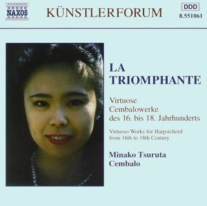 Minako Tsuruta (La Triomphante: Virtuose Cembalowerke des 16.-18. Jahrhunderts), Minako Tsuruta