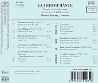 Minako Tsuruta (La Triomphante: Virtuose Cembalowerke des 16.-18. Jahrhunderts) - Produktdetailbild 1