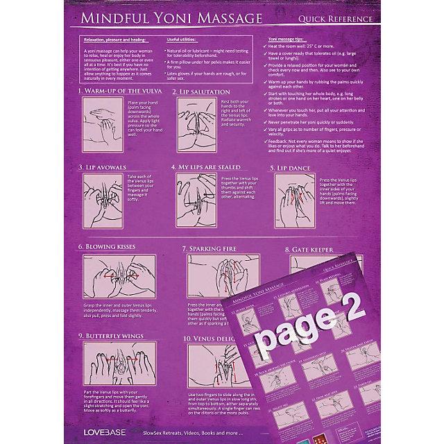 Mindful Yoni Massage - Quick Reference bestellen | Weltbild.at