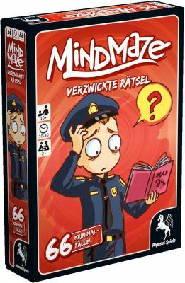 MindMaze - Verzwickte Rätsel: 66 Kriminalfälle! (Kartenspiel), Timofey Bokarev
