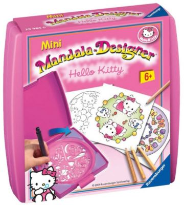 Mini Mandala-Designer Hello Kitty