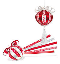 Mini Paper Balls (Motiv: Yule Ornaments) - Produktdetailbild 1