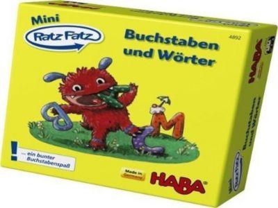 Mini Ratz-Fatz, Buchstaben und Wörter (Kinderspiel)