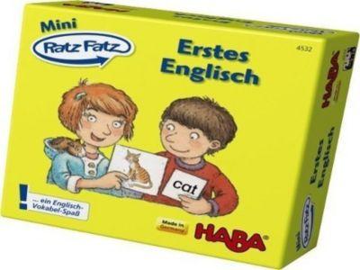 Mini Ratz-Fatz (Kinderspiel), Erstes Englisch