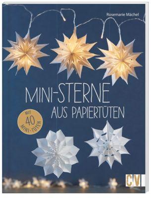 Mini-Sterne aus Papiertüten - Rosemarie Mächel |