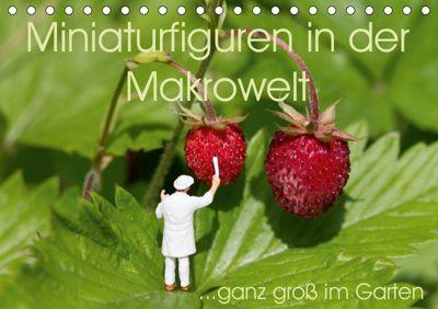 Miniaturfiguren in der Makrowelt ...ganz gross im Garten (Tischkalender 2019 DIN A5 quer), stephi abels