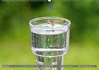 Miniaturfiguren in der Makrowelt ...ganz gross im Garten (Wandkalender 2019 DIN A2 quer) - Produktdetailbild 6