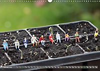Miniaturfiguren in der Makrowelt ...ganz gross im Garten (Wandkalender 2019 DIN A3 quer) - Produktdetailbild 2